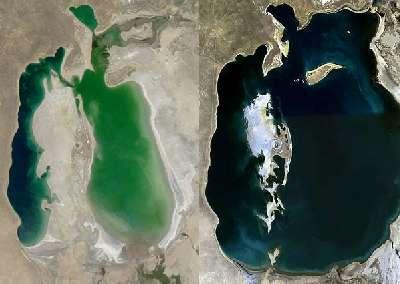 La 'resurrección' del mar de Aral