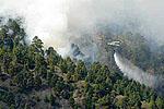 La superficie quemada en Gran Canaria el 21 de julio supone más de la mitad de la extensión que ardió durante todo el pasado año en los 142 incendios habidos en las islas Canarias